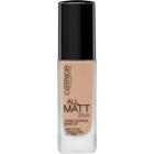 Тональная основа All Matt Plus Shine Control Make Up - 020 Nude Beige бежевый
