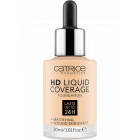 Тональная основа HD Liquid Coverage Foundation - 002 Porcelain Beige